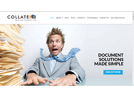 Collate Business Systems Website